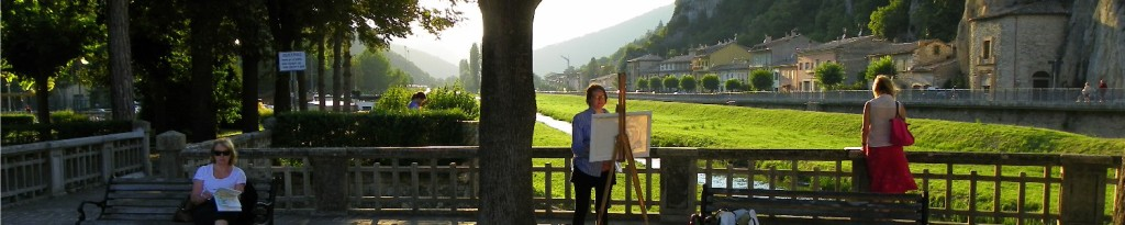prioraco painting, art holiday in Italy